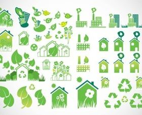 Environmental Icons vector design