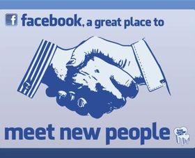 Facebook Meet People vector
