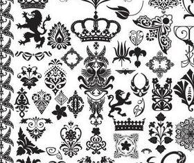 Design Luxury Elements shiny vector