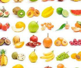 Tasty Fruits free vectors graphic