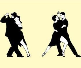Tango Couples vector