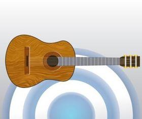 Classical Acoustic Guitar vectors