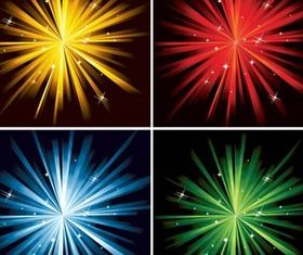 Flash Backgrounds vector
