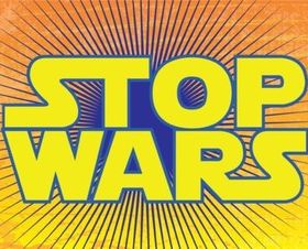 Stop Wars set vector