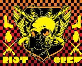 Riot Emblem vectors material