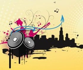 Music City vector graphics