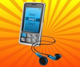 Music Phone vectors
