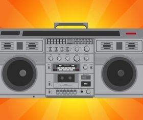 Hip Hop Radio vector set