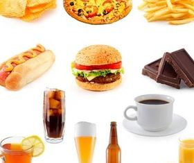 Appetizing Fastfood free vector