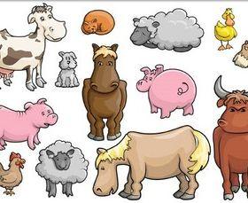 Funny Pets Vector