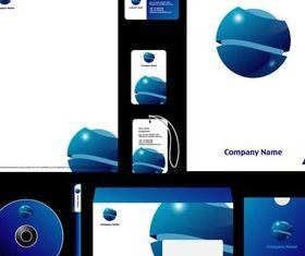 Branded Items vectors graphic