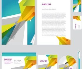 Abstract Business Objects vector