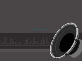 Horn set vector graphics