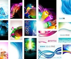 Business Creative Cards vector set