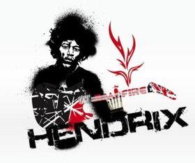 Jimi Hendrix Graphics vector