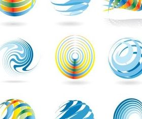 Business Geometric Logo vectors graphics