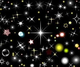 Stars and Light Effects design vector