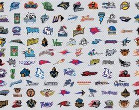 AFL Football Logos vector