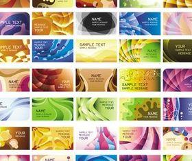 Different Cards graphic design vectors