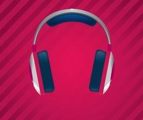 Funky Headphones vectors