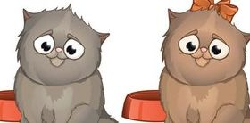 Drawing cartoon image cute animal vectors graphics
