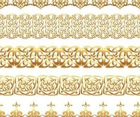 Golden Elements free vector