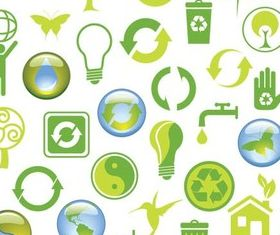 Eco Elements design vectors
