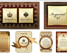 Royal Frames graphic vector graphics