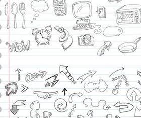 Cartoon animal drawing comic vector