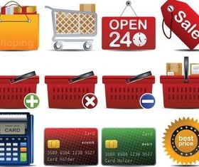 Shopping Stuff vectors