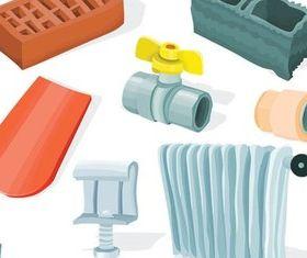 Plumbing Materials vector