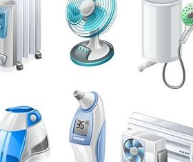Home Appliances Vector vector