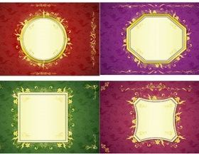 Luxury Color Backgrounds vector