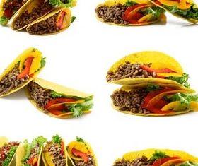 Tasty Mexican Tacos vectors graphic