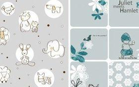 Cute cartoon elements set vector