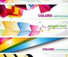 Banners free design vector