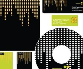 Abstract Business Elements vector