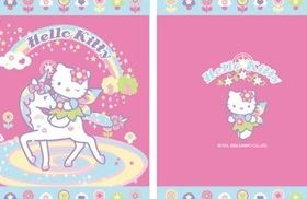 Hello Kitty designs vector
