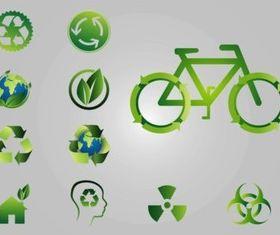 Recycling Logos vector