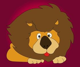 Lion Character design vector
