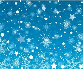 Winter Background vector material