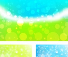 Abstract light background vector material