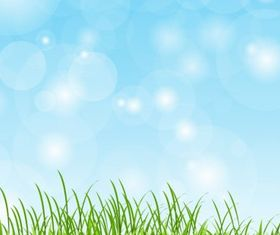 Spring Grass graphic vector