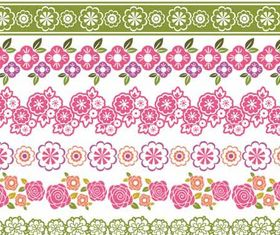 Ornate Floral Borders vector