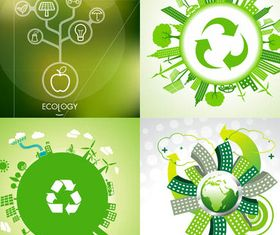 Ecology graphic vector
