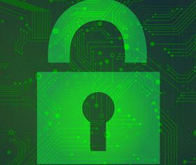 Shiny Security Backgrounds art vector