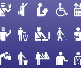 People Symbols Graphics vector