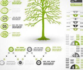 Ecology Green Elements art vector
