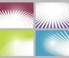 Circular Patterns design vector