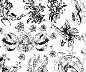 Ornate Floral Elements (Set 27) vector graphics